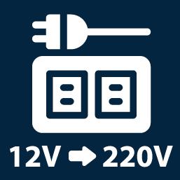 Spannungs-Wandler 12/220 V