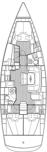 Bavaria46Cruiser-layout