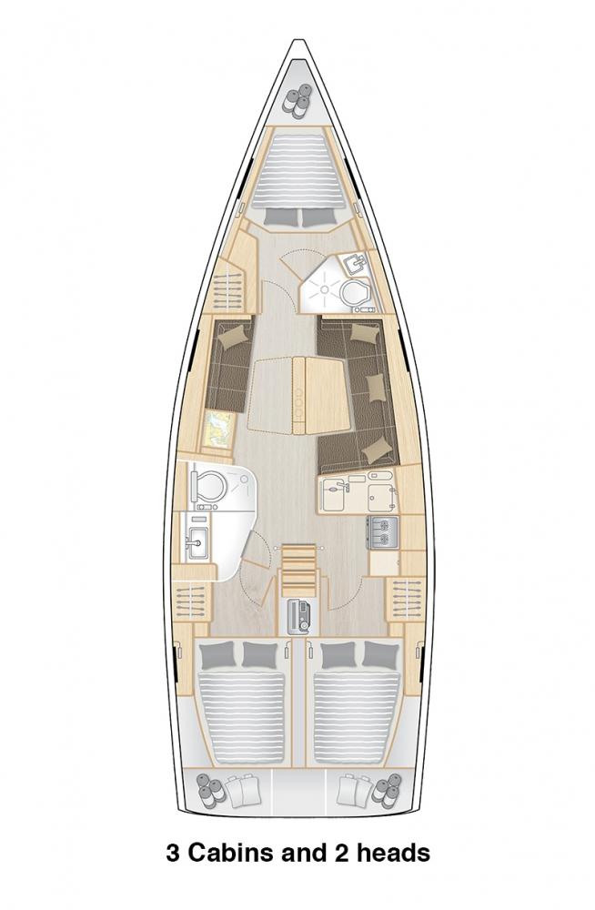 Hanse418-layout