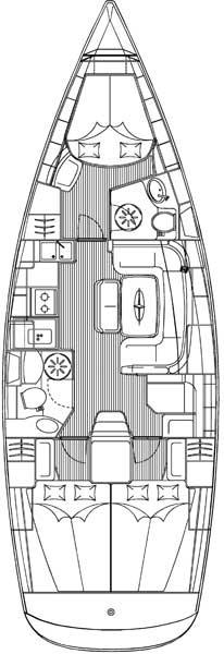 Bavaria39Cruiser-layout